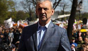 Sławomir Broniarz, prezes ZNP.