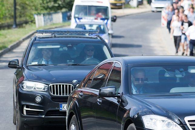 Auto SOP zderzyło się z samochodem osobowym. Do kolizji doszło pod Opolem