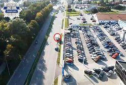 Piaseczno. Raz, dwa trzy - dron patrzy. Drogówka dozoruje ulice z powietrza
