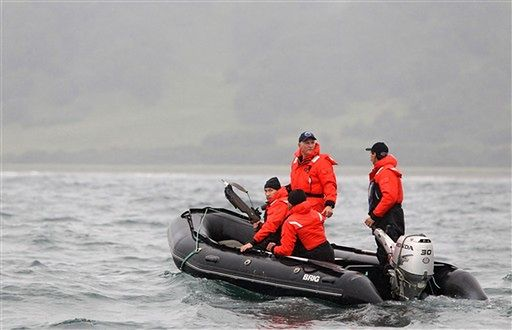 """""""Życie jest niebezpieczne""""; Putin poluje na wieloryba"""
