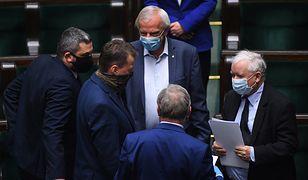 Posiedzenie Sejmu. Kwiecień 2020.