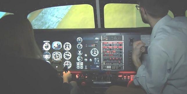 Jak wygląda lot na symulatorze?