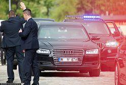 Kolizje samochodów SOP. MSWiA ujawniło dane z czterech lat