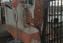 Kierowca SOP wjechał w bramę obiektu należącego do... Służby Ochrony Państwa