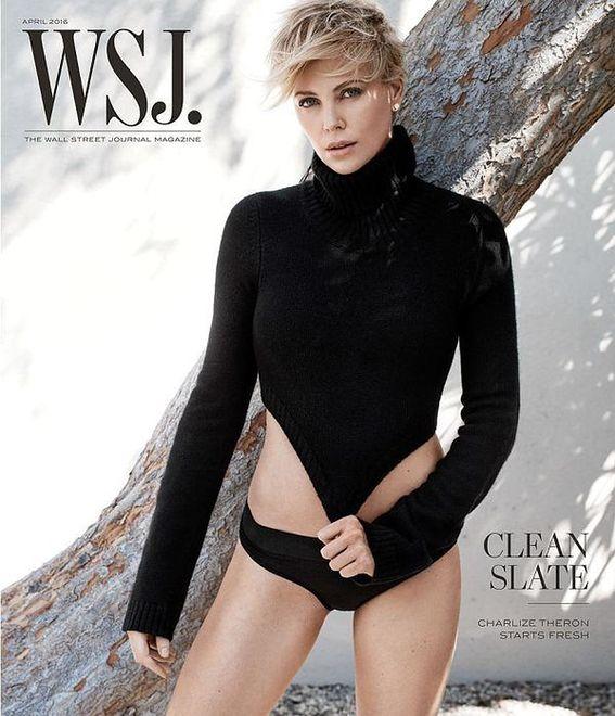 """Blondwłosa piękność w sesji dla """"The Wall Street Journal"""""""