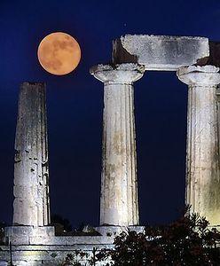 Niezwykły Księżyc. Truskawkowy, miodowy, różowy.  Ponoć zapewnia spokój i szczęście
