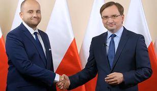 """Zbigniew Ziobro popiera Dariusza Mateckiego. """"Gorąco namawiam"""""""