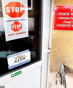 Zbiorowe zatrucie w koszarach w Łodzi. Ponad 40 studentów w szpitalu