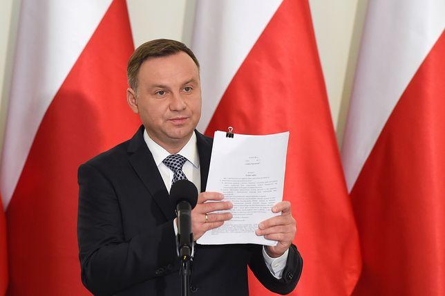 Andrzej Duda przedstawił projekty ustaw o KRS i Sądzie Najwyższym. Pierwsze komentarze polityków