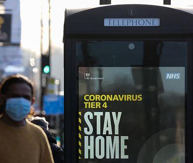 COVID-19. Lockdown w Wielkiej Brytanii. Jest dużo gorzej niż podczas pierwszej fali