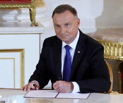 Ułaskawienie pedofila przez Andrzeja Dudę. Głos Kancelarii Prezydenta