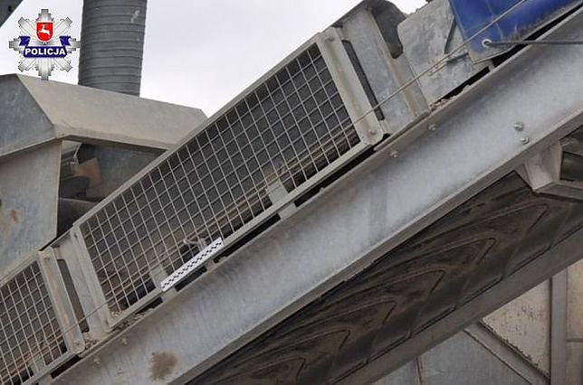 Opole Lubelskie. Okoliczności wypadku wyjaśniają policjanci i inspektorzy pracy