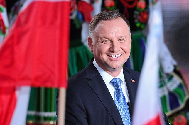 Wybory prezydenckie 2020. Andrzej Duda i jego sztab zadowoleni z wyników