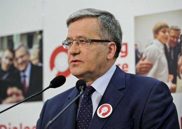 Bronisław Komorowski o prokuraturze: popełniła kardynalne błędy