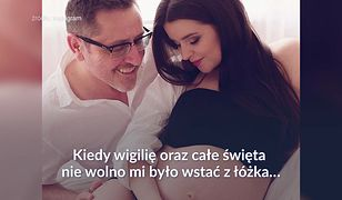 Żona Andrzeja Sołtysika o zagrożonej ciąży