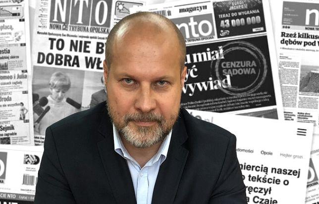"""Krzysztof Zyzik, po 14 latach zwolniony ze stanowiska naczelnego """"Nowej Trybuny Opolskiej"""""""