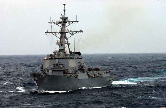 Incydent w Zatoce Perskiej. Amerykański okręt oddał strzały ostrzegawcze