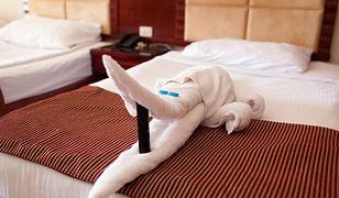 Zwierzęta z ręczników to tradycja niektórych hoteli