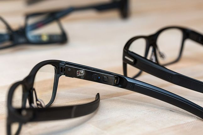 Okulary Intel Vaunt, źródło: The Verge