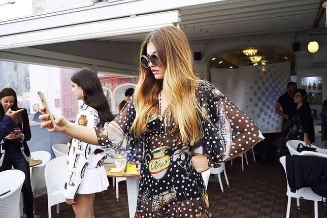 Francuska modelka w kampanii Dolce & Gabbana - kulisy sesji