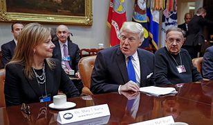 Szefowie koncernów motoryzacyjnych spotkali się z Donaldem Trumpem