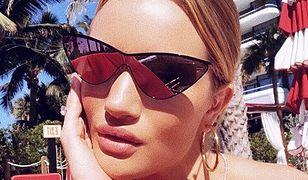 Rosie Huntington-Whiteley w bikini. Niedawno urodziła!