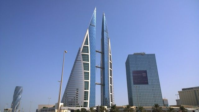 Bahrain World Trade Center w Bahrajnie