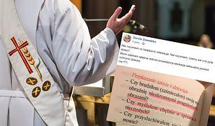 Dorota Zawadzka skrytykowała metody nauczania księży