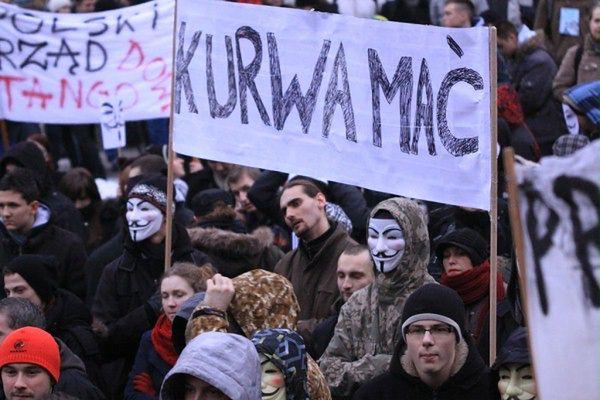 Źródło: Katowice: protest przeciwko ACTA (25.01.2012, autor: Piotr Kalsztyn)