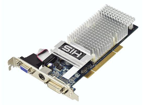 HIS Radeon HD4350 ze złączem PCI