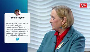 Wybory prezydenckie 2020. Róża Thun o konwencji Andrzeja Dudy. Użyła dosadnego porównania