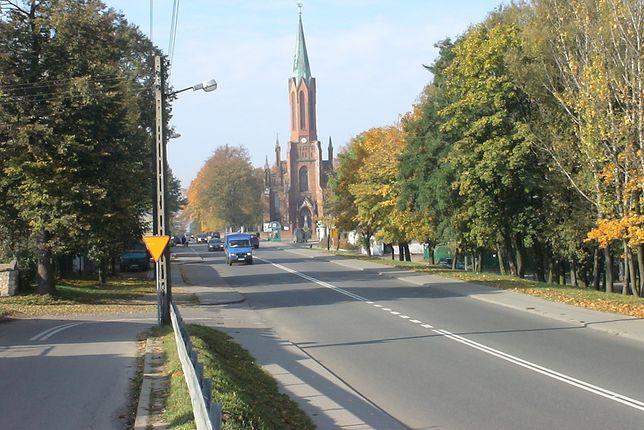 DK91 przebiega m.in. przez Rędziny