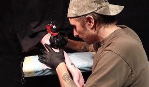 Zgodzili się na tatuaż w ciemno. Nie wiedzieli, że autorem będzie tatuator gwiazd