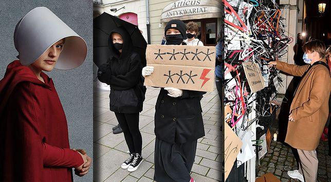Symbole, którymi posługują się protestujący