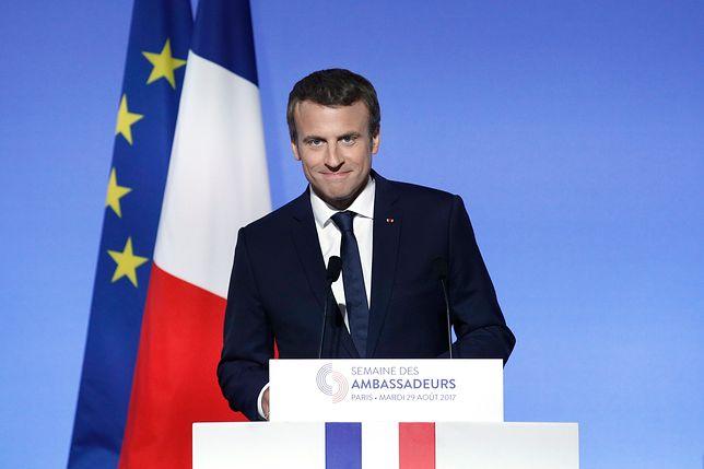 Francja: Planowano atak na Emannuela Macrona. Aresztowano 6 podejrzanych
