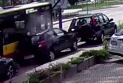 Warszawa. Spowodował kolizję na Bielanach. Dwa zarzuty dla kierowcy autobusu