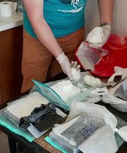 Warszawa. Miał w mieszkaniu 4,5 kg kokainy o wartości 1,8 mln zł