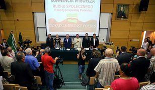 Konwencja wyborcza Ruchu Społecznego RP w Warszawie