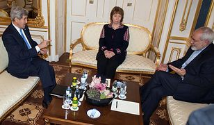 John Kerry, Catherine Ashton i Dżawad Zarif