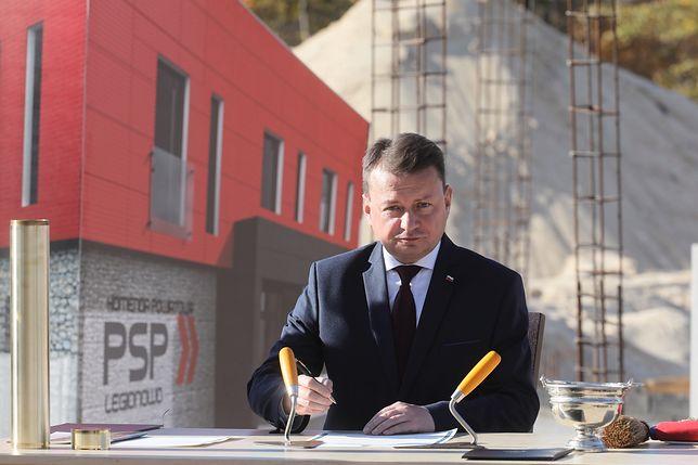Mariusz Błaszczak, minister obrony