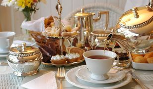 Popołudniowa herbatka w angielskim stylu
