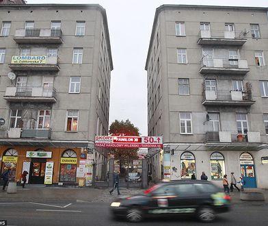 Warszawa: kamienica przy ul. Targowej 66 (2016 r.)