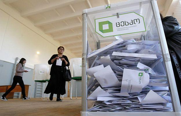 W Gruzji zakończyły się wybory parlamentarne. Prowadzi Gruzińskie Marzenie-Demokratyczna Gruzja - 53,8 proc. głosów