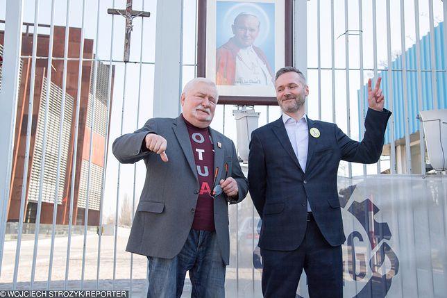 Lech Wałęsa twierdzi, że bardzo wspiera swojego syna Jarosława