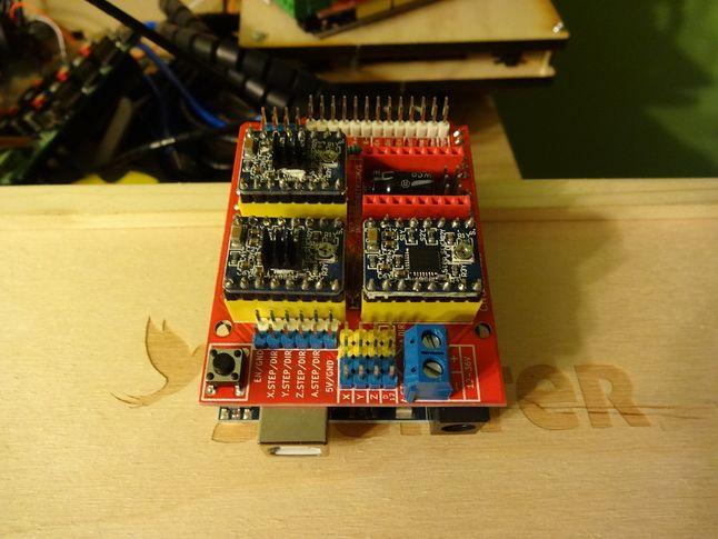 Shield CNC wraz z Arduino Uno