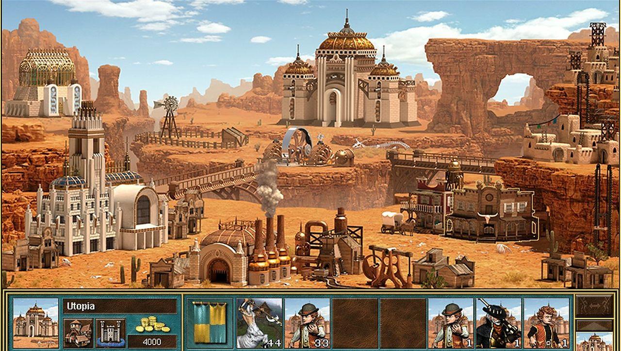 Heroes III. Wszystko o nowym zamku - Factory - Heroes of Might & Magic III - Factory