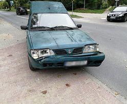 Wypadek w Olsztynie. Za kółkiem kierowca, którego wiek zapisuje się trzema cyframi