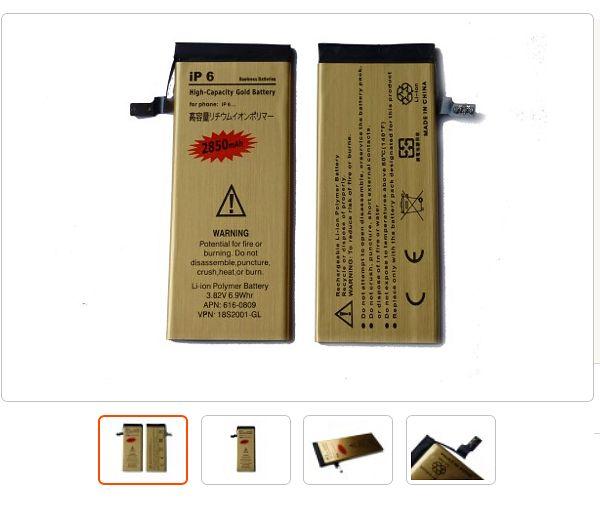 Kultowa w serwisach autoryzowanych bateria o większej pojemności, w złotej folii !!! Wersja GOLD !!!