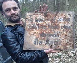 Naziści ostrzegali Polaków. Dwa niezwykłe odkrycia pod Toruniem