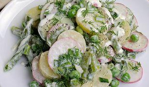 Letnia sałatka z ziemniakami